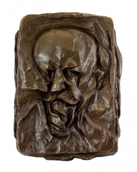 Bronze-Relief - Bildnis des Vaters (1912) - Otto Gutfreund