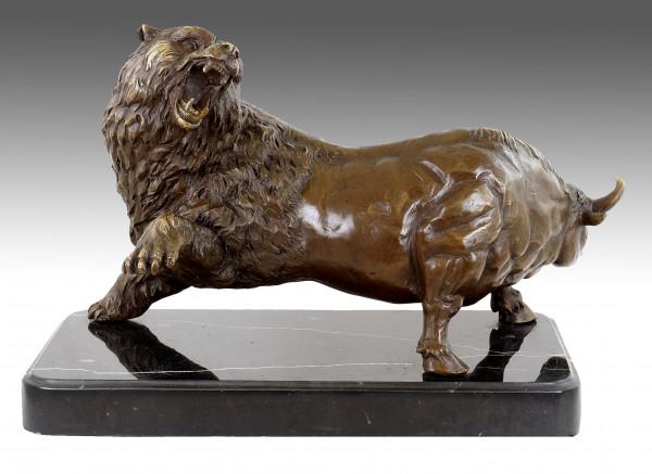 Bär Stier - Trader Bronze - Börse Figuren - Martin Klein