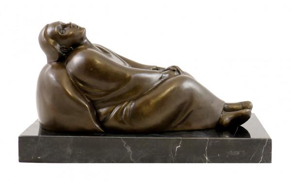 Moderne Bronzefigur - Träumendes Weib - 1912, sign. E. Barlach