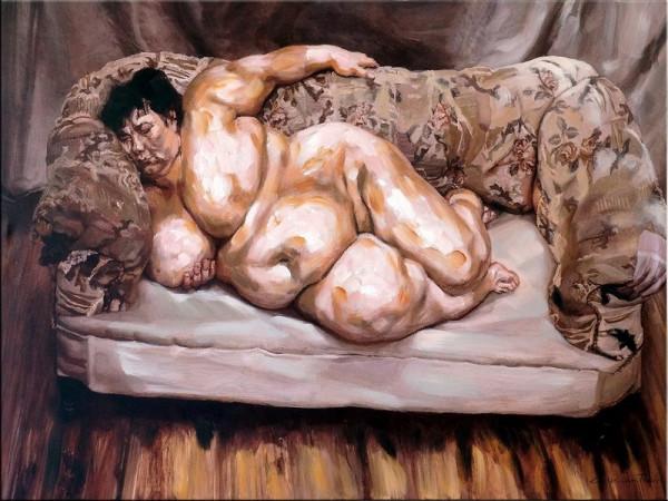 Benefits Supervisor Sleeping - Hommage an Lucian Freud
