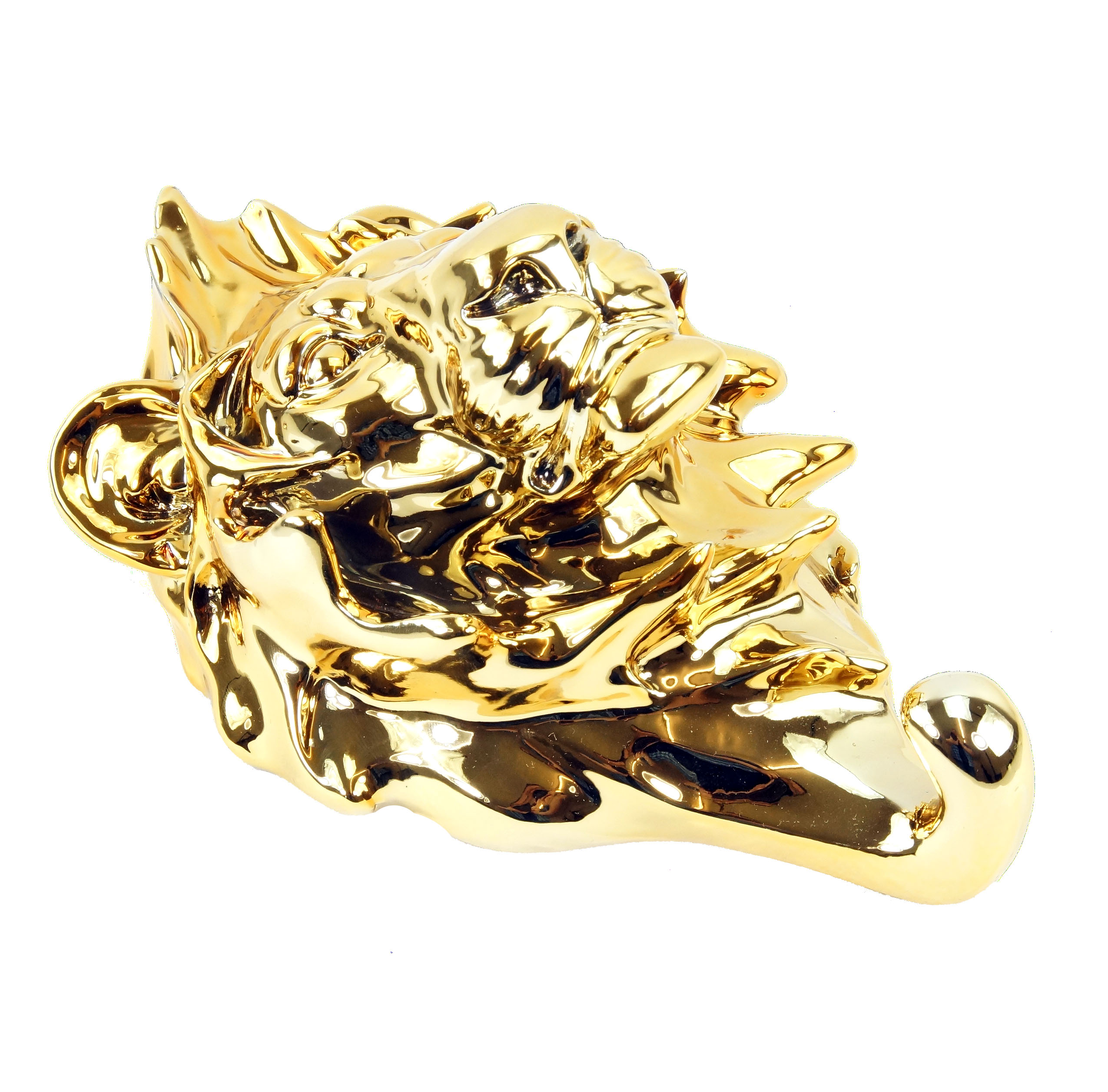 Goldene Löwenkopf Handtuchhalter Limitierter Wandhaken