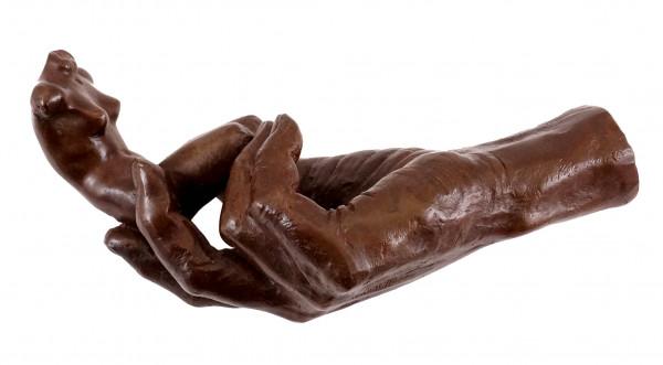 Auguste Rodin - Die Hand Gottes / Die Schöpfung (1917) - Bronze