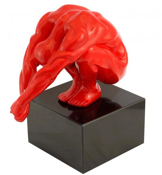 Moderne Skulptur - Kopfsprung - Martin Klein