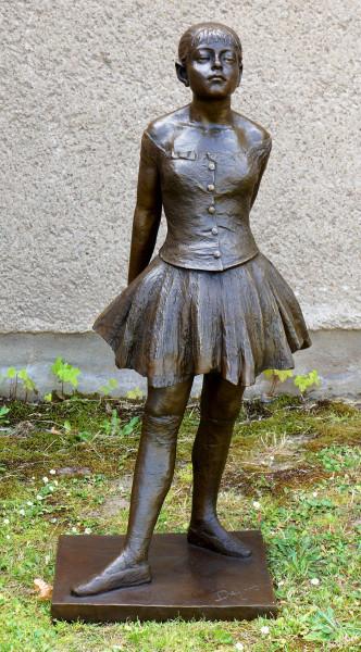 Großbronze - Vierzehnjährige Tänzerin - sign. Edgar Degas