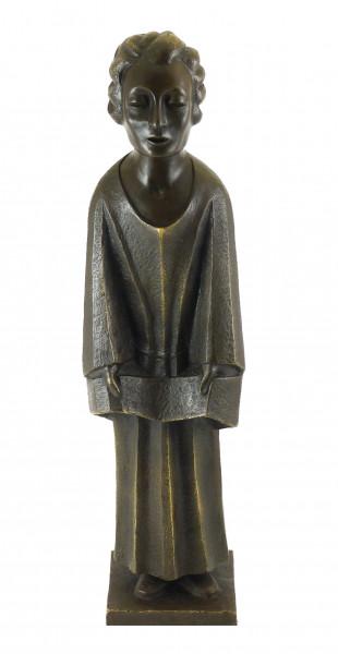 Bronzefigur, Der Sänger (Singender Klosterschüler), E. Barlach