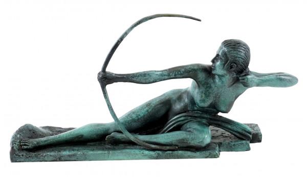Art déco Bronzefigur - Penthesilea - Marcel-André Bouraine