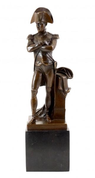Historische Bronzefigur - Napoléon Bonaparte - sign. Milo