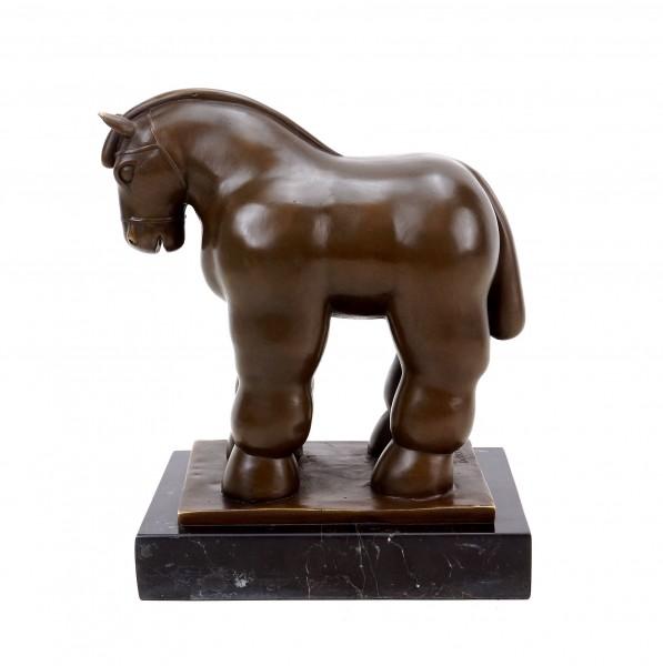 Fernando Botero - Das Pferd - Horse 06 - Berlin 2007 - Moderne Bronze