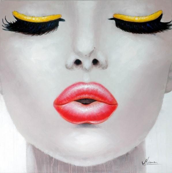 Kiss me – Erotisches Gemälde – Martin Klein – Kussbild - Sexy Bild
