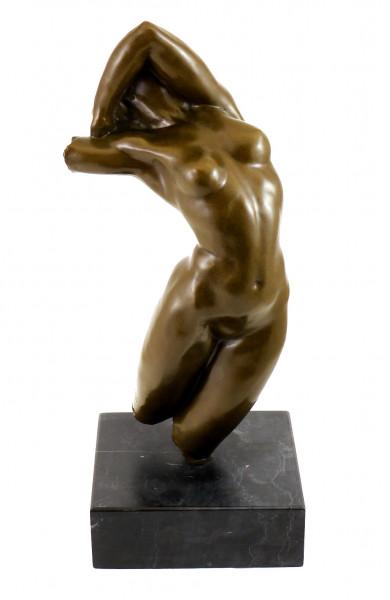 Bronzefigur - Torso der Adele 1884 - signiert Auguste Rodin