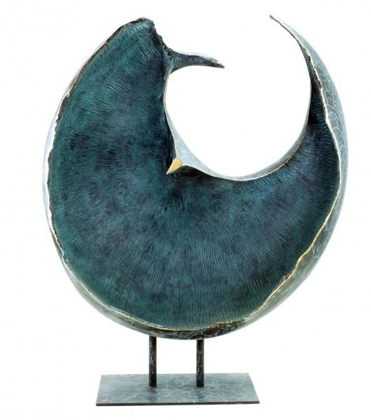 Großes Limitiertes Bronzerelief - The Sphere - Skulptur von Martin Klein