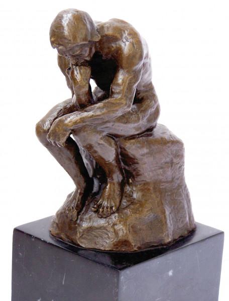 Moderne Kunst Bronze - Der Denker signiert Auguste Rodin