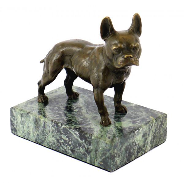 Wiener Bronze - Tierfigur - Bulldogge / Bully, Bergmann-Stempel