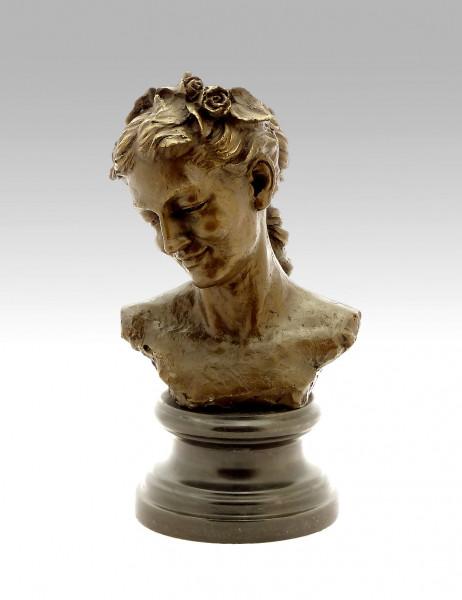 Jean-Baptiste Carpeaux -  Bacchante with lowered eyes - 1872