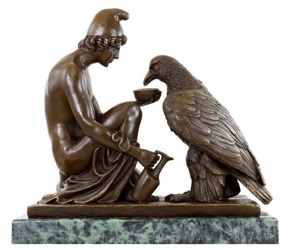 Ganymed - den Adler des Zeus tränkend - B. Thorvaldsen