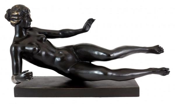 Aristide Maillol: L'air (Air) 1939 - Bronzeskulptur