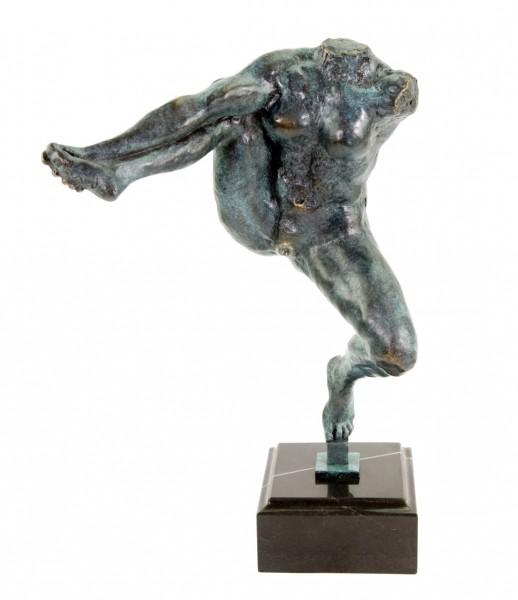 Moderne Bronzestatue - Iris, die Götterbotin (1891) - Auguste Rodin
