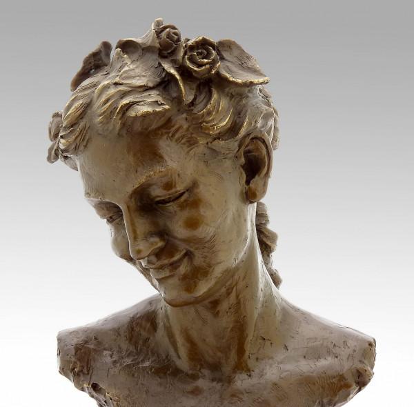 "Jean-Baptiste Carpeaux ""Bacchante with Lowered Eyes"" 1872"