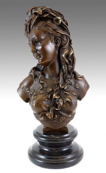 Jugendstil - Buste de Flore (1865-70) - Frauenbüste - A. Carrier